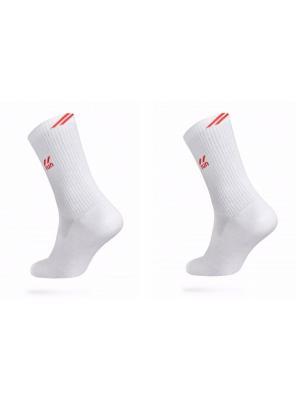 Носки ACTIVE 7С-64СП, 2 пары DiWaRi. Цвет: красный, белый
