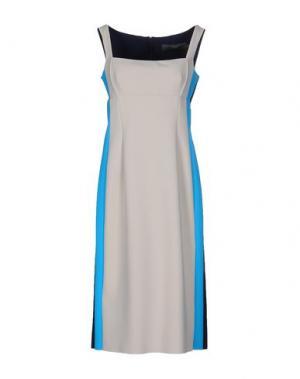 Платье до колена GRETA CONSTANTINE. Цвет: бежевый
