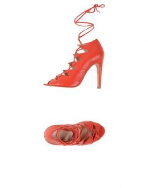 Туфли CHARLINE DE LUCA. Цвет: красный