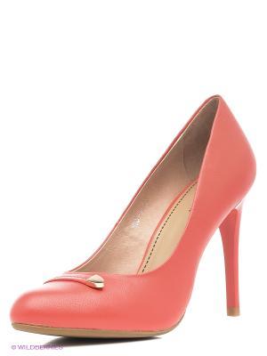 Туфли Covani. Цвет: красный