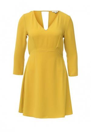 Платье River Island. Цвет: желтый