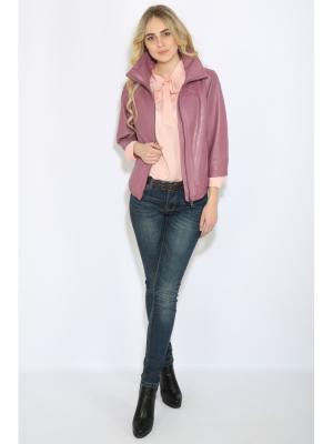 Куртка Finn Flare. Цвет: розовый