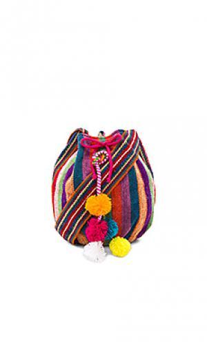 Сумка-мешок inca Pitusa. Цвет: красный