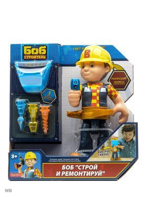Фигурка Боб-строитель с аксессуарами Mattel. Цвет: синий