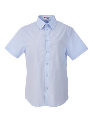 Сорочка Button Blue. Цвет: голубой