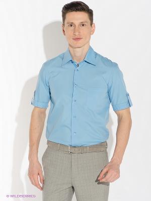 Рубашка ABSOLUTEX. Цвет: синий