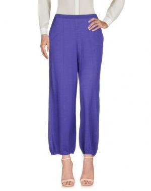 Повседневные брюки AKEP. Цвет: фиолетовый