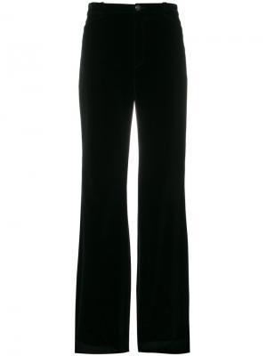 Расклешенные брюки Lanvin. Цвет: чёрный