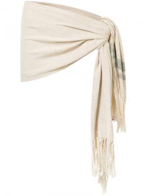 Пляжная повязка Riva Osklen. Цвет: телесный