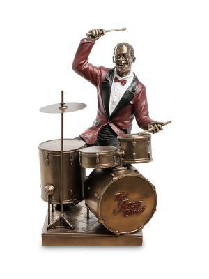 Статуэтка Барабанщик Veronese. Цвет: бронзовый, красный