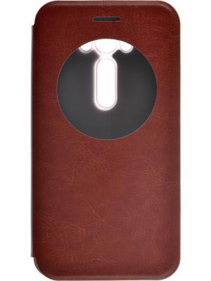 Asus Zenfone Laser 2 ZE500KL/ZE500KG skinBOX Lux AW. Цвет: коричневый