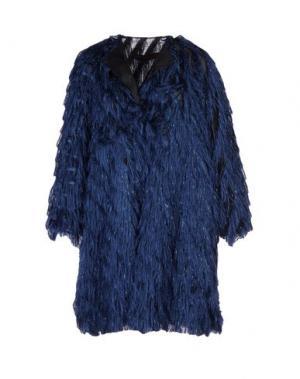 Легкое пальто MARTIN GRANT. Цвет: синий