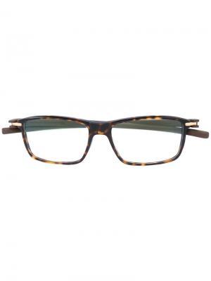 Оптические очки Reflex Tag Heuer. Цвет: коричневый