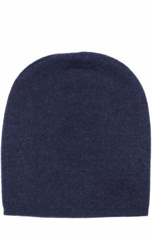 Кашемировая шапка Tegin. Цвет: темно-синий
