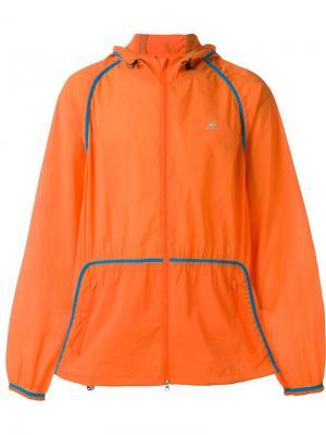 Спортивная куртка на молнии Adidas x Kolor Originals. Цвет: жёлтый и оранжевый