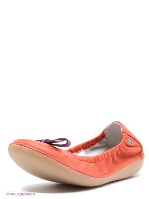 Балетки TBS. Цвет: оранжевый