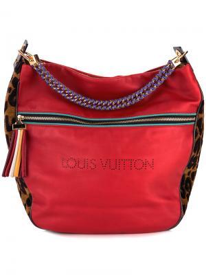 Сумка Safari Flight Louis Vuitton Vintage. Цвет: красный