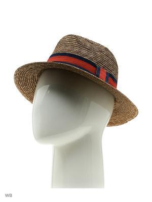 Шляпа UFUS. Цвет: коричневый