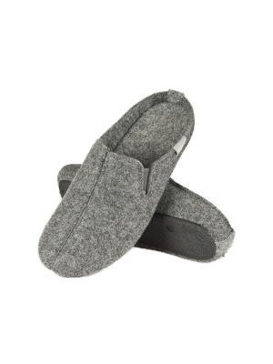 Тапки мужские Soxo. Цвет: серый