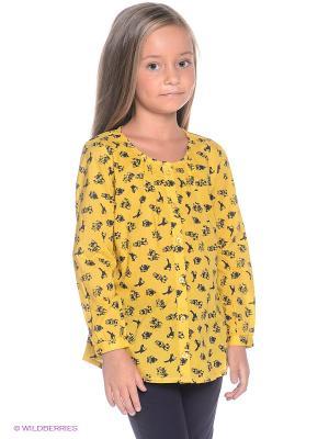 Блузка Noppies. Цвет: желтый