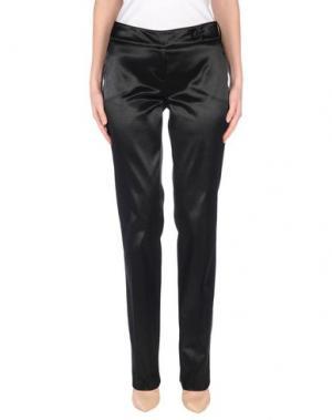 Повседневные брюки BLU BYBLOS. Цвет: черный
