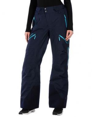 Лыжные брюки PEAK PERFORMANCE. Цвет: темно-синий