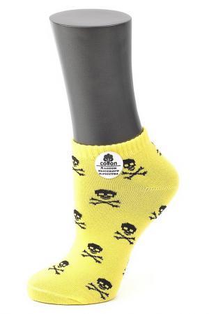 Носки ALLA BUONE. Цвет: желтый