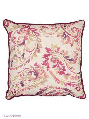 Подушка декоративная Sabrina 45х45 см T&I. Цвет: темно-бордовый, темно-красный