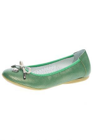 Туфли BAILELUNA. Цвет: зеленый