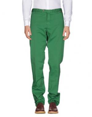 Повседневные брюки GERMANO. Цвет: зеленый