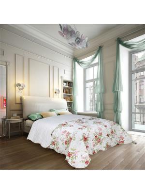Покрывало Voyage 2 спальное Евро Amore Mio. Цвет: зеленый, белый, красный
