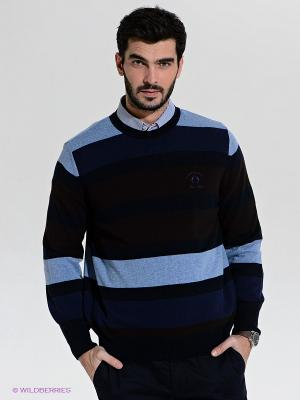 Джемпер Claudio Campione. Цвет: темно-синий, голубой
