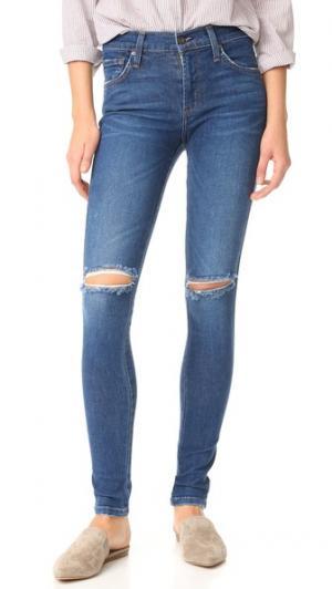 Джинсы-леггинсы со средней посадкой James Twiggy Jeans. Цвет: victory