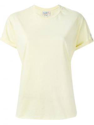 Классическая футболка Sandrine Rose. Цвет: жёлтый и оранжевый