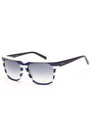 Очки солнцезащитные Esprit. Цвет: синий, белый