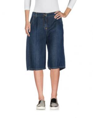 Джинсовые брюки-капри SISTE' S. Цвет: синий