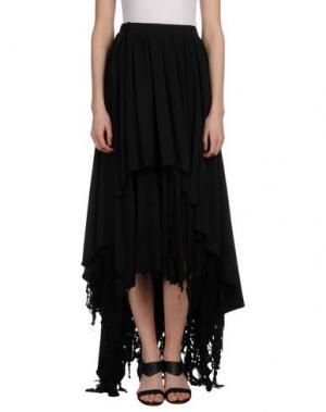 Длинная юбка BAD SPIRIT. Цвет: черный