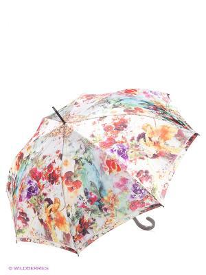 Зонт Eleganzza. Цвет: бежевый, красный