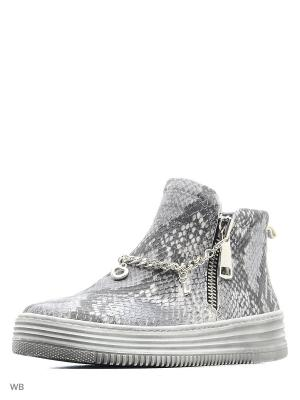 Ботинки Tucino. Цвет: серый