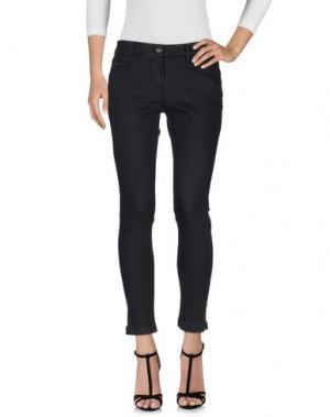 Джинсовые брюки ETIQUETA NEGRA. Цвет: стальной серый
