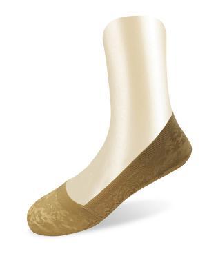 Носки, 2 пары Glamuriki. Цвет: бронзовый