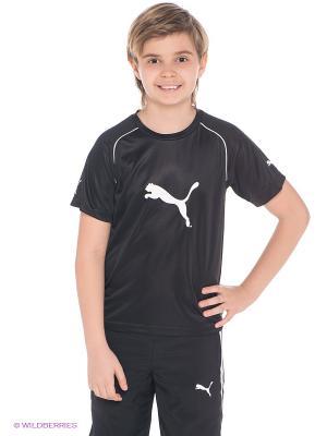 Футболка Ringer Jersey Puma. Цвет: черный