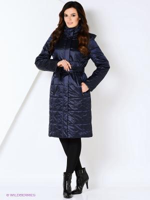 Пальто STEINBERG. Цвет: темно-синий