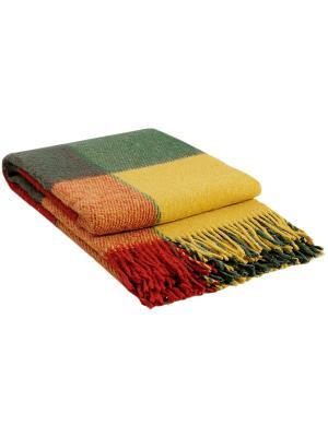 Плед Эльф, 170х210, рап.1 VLADI. Цвет: зеленый, желтый, красный