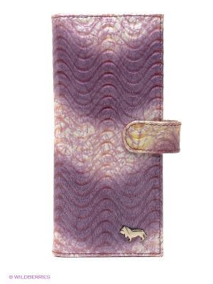 Визитница Labbra. Цвет: фиолетовый