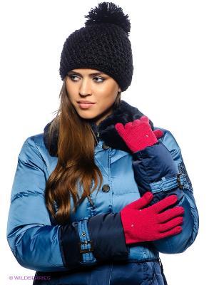 Перчатки Female Knit Gloves Puma. Цвет: розовый