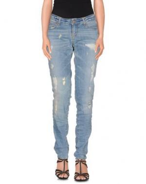 Джинсовые брюки MAGAZZINI DEL SALE. Цвет: синий