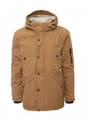 Куртка утепленная d-Struct. Цвет: коричневый