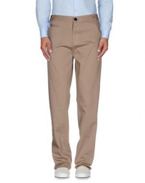 Повседневные брюки ONTOUR. Цвет: хаки