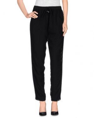 Повседневные брюки RELIGION. Цвет: черный